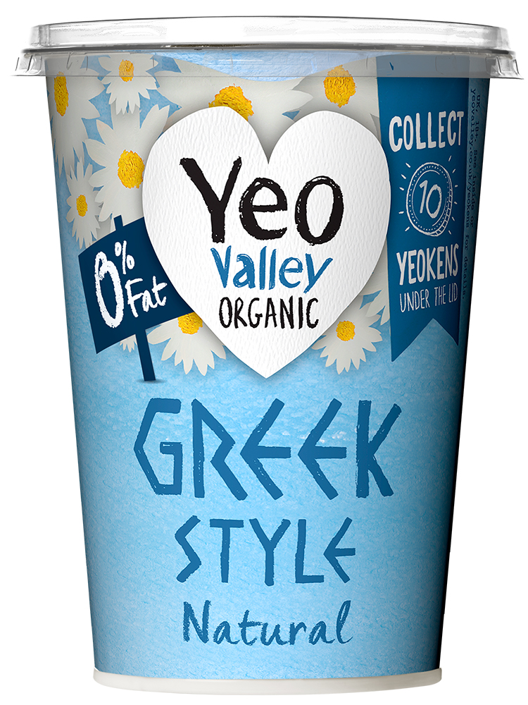 Yeo Valley Organic Fat Free Greek Style Natural Yogurt