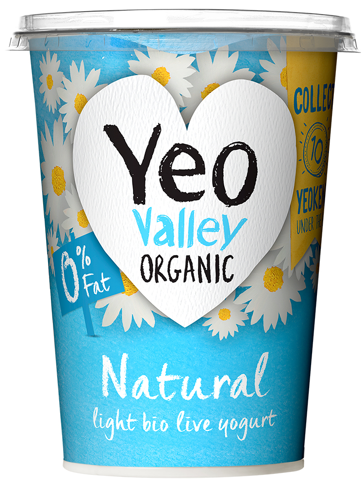 Yeo Valley Organic Fat Free Natural Yogurt
