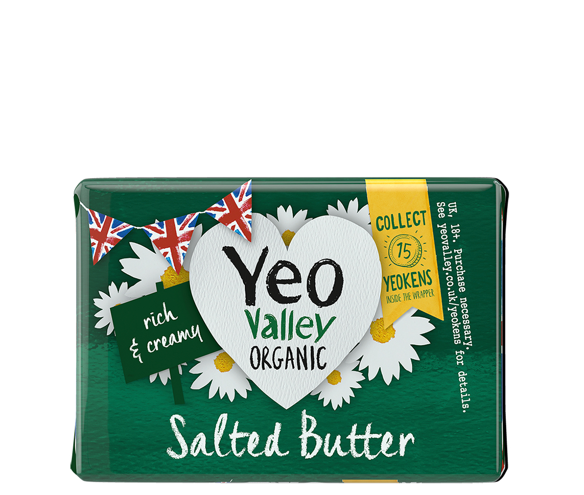 Yeo Valley Organic Salted Butter