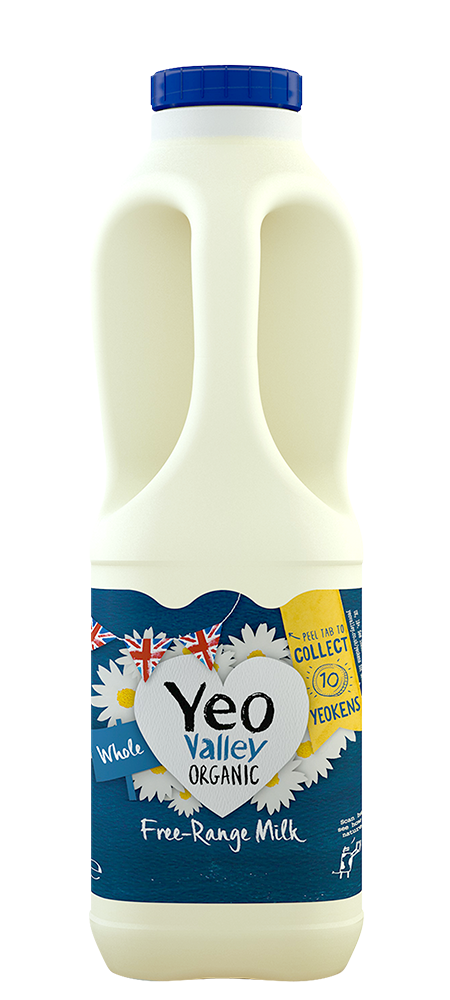 Yeo Valley Organic Whole Milk