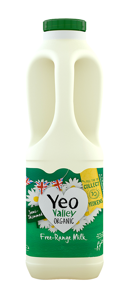 Yeo Valley Organic Semi Skimmed Milk