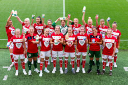Bristol City Womens Football Team sponsored by Yeo Valley