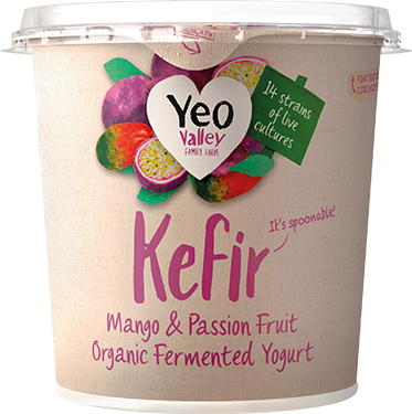 Kefir Mango Passion Yogurt packshot