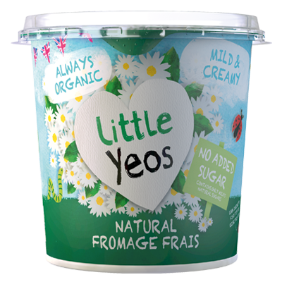 Yeo Valley Organic Natural Fromage Frais