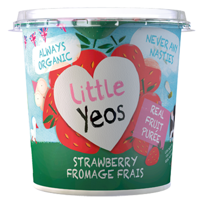 Yeo Valley organic Strawberry Fromage Frais