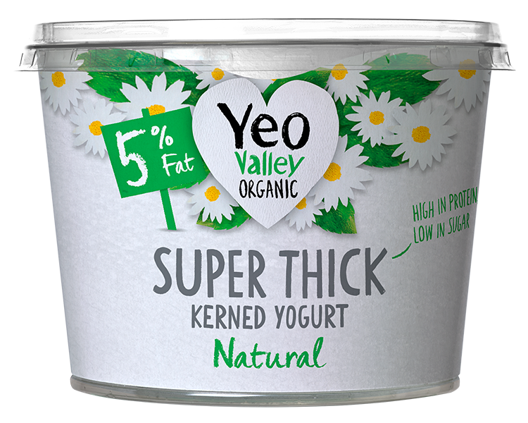 Yeo Valley Organic Super Thick yogurt