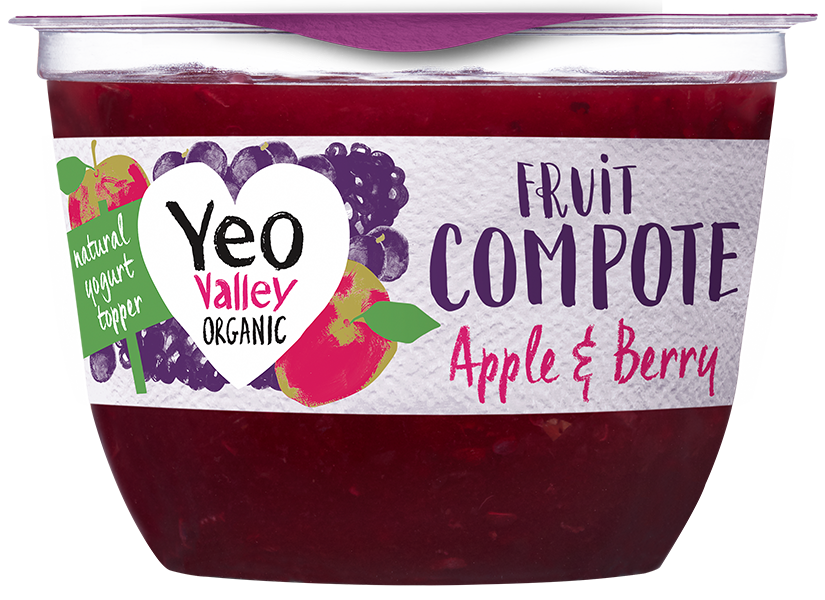 Yeo Valley Organic Apple and Berry Compote