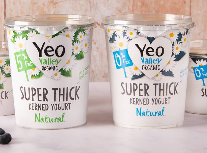 Yeo Vally Organic Super Thick yogurt