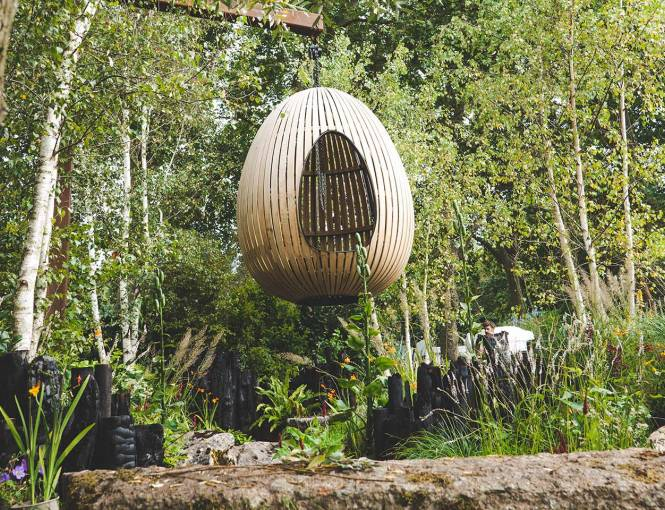 Yeo Valley Organic garden at the RHS Chelsea Flower Show