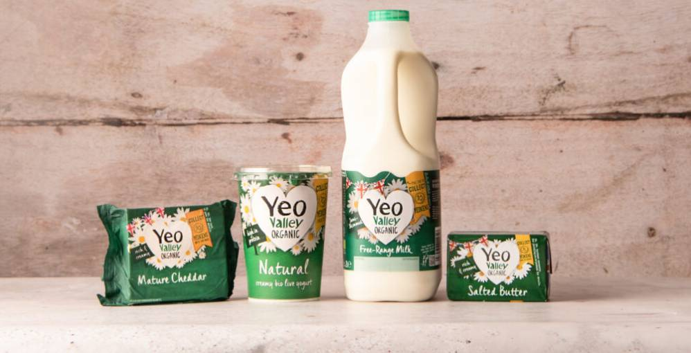 Yeo Valley Organic dairy products