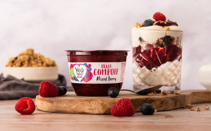 Yeo Valley Organic Mixed Berry Compote