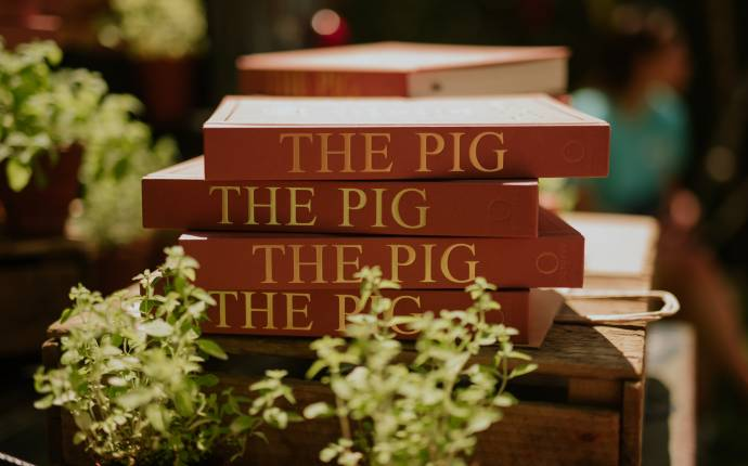 win a copy of THE PIG: tales and recipes from the kitchen garden and beyond
