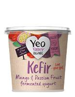 Yeo Valley Organic Mango and Passionfruit Kefir