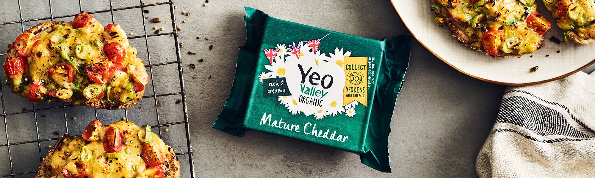 Yeo Valley Organic Mature Cheddar Cheese