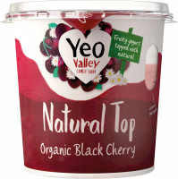 Yeo Valley Organic Natural Top cherry pack