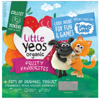 Yeo Valley Organic Little Yeos yogurt with Timmy Time