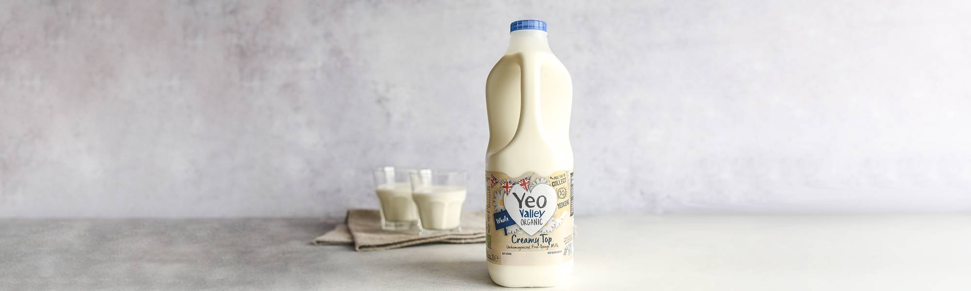 Yeo Valley unhomogenised organic whole milk