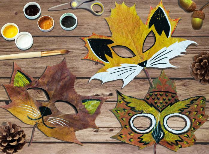 Make Nature Masks with Yeo Valley Organic