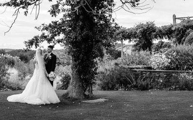 Get married in the Yeo Valley Organic Garden