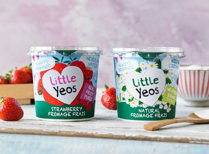 Little YEos Big Pot organic yogurt range
