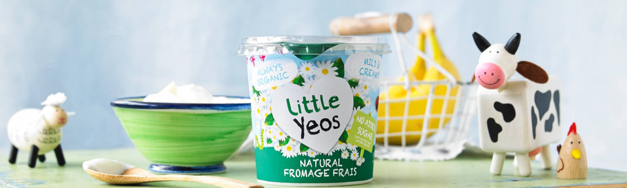Little Yeo organic children's yogurt from Yeo Valley