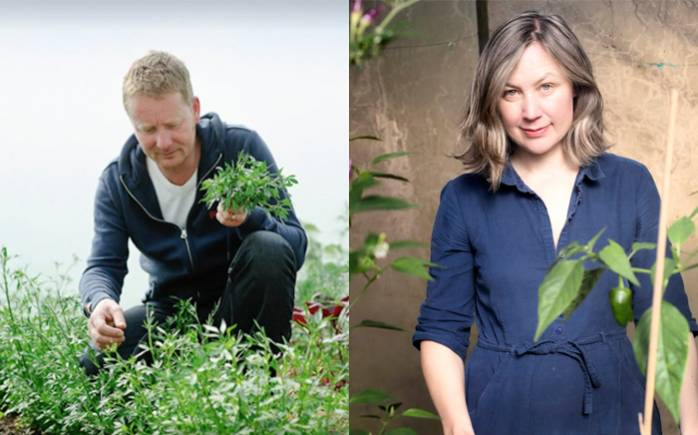 Mark Diacono and Lia Leendertz talk kitchen gardens