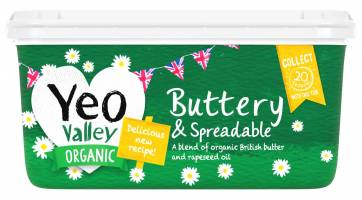 Yeo Valley organic butter rapeseed oil