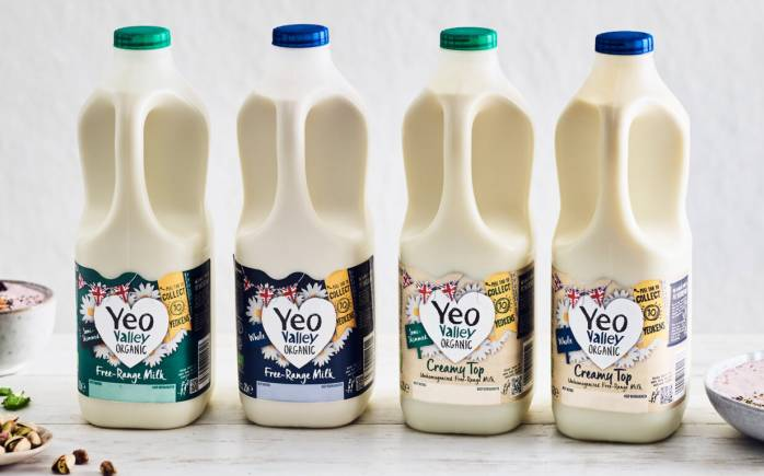Yeo Valley Organic Milk Range