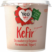 Kefir Strawberry Yogurt packshot
