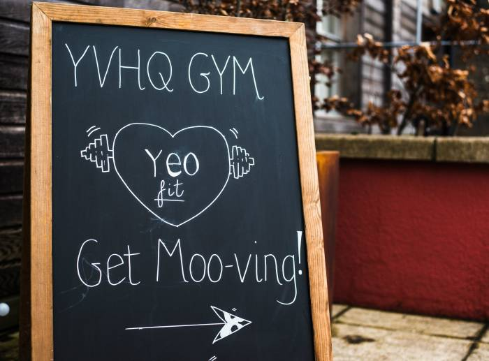 Yeo Valley gym get moving in Mendip