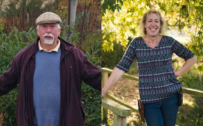 Bob Brown and Andi Strachan talk gardens and gardening