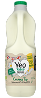 Yeo Valley Organic unhomogenised Semi Skimmed Milk