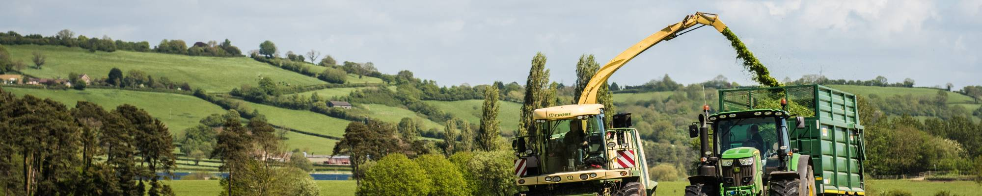 Farming silage Yeo Valley Organic Farms