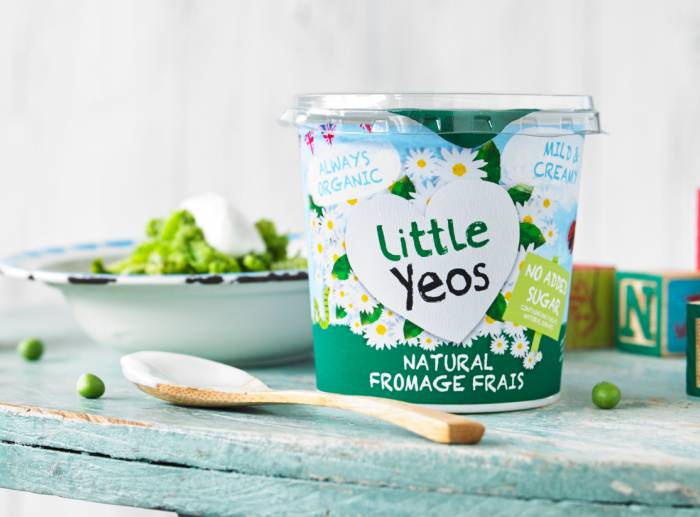 YEo Valley Organic childrens yogurt fromage frais natural