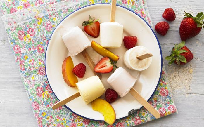 Little Yeos Recipe for Yogurt ice Lollies