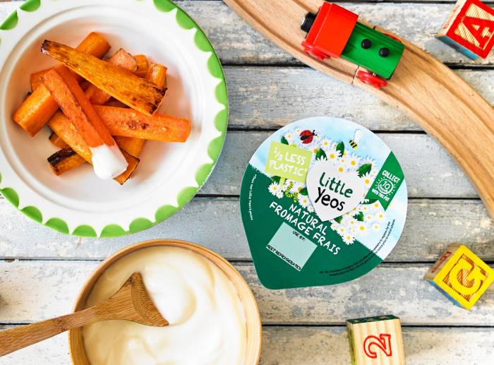 Yeo Valley organic children fromage frais yogurt dip