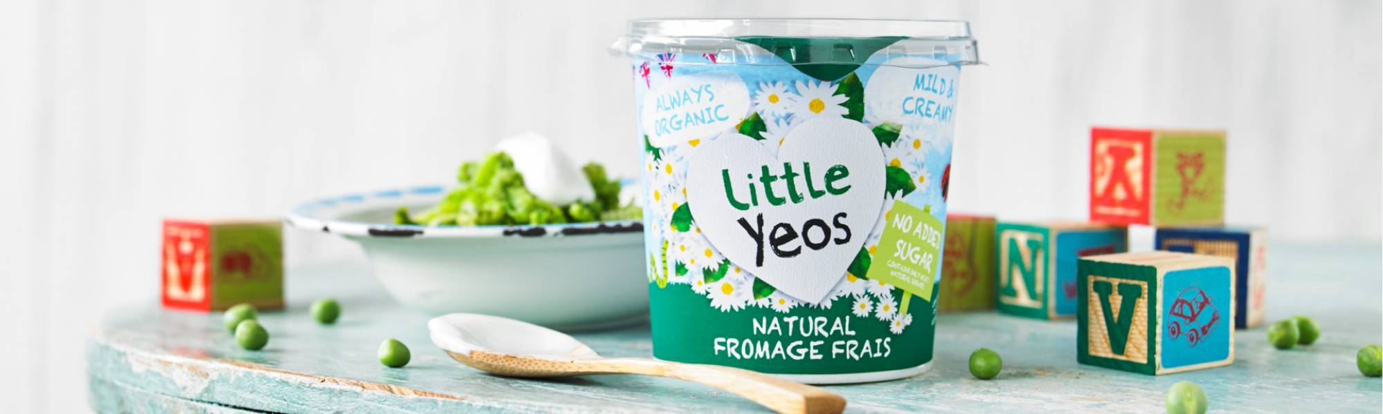 use Little Yeos natural as a dip