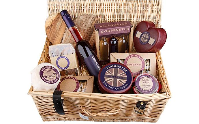 win a cracking, cheese-filled hamper from Godminster