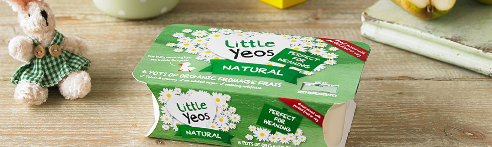 Yeo Valley organic fromage frais