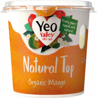 Yeo Valley organic natural top mango pack