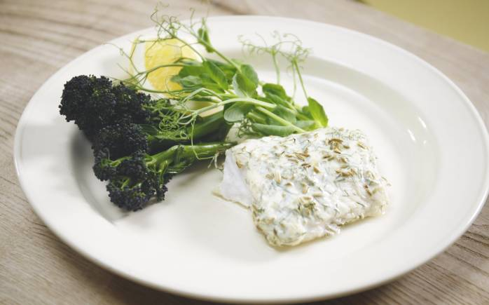 Use Yeo Valley Organic Natural yogurt to make a marinade for fish