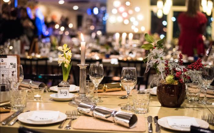 Yeo Valley organic Christmas evening event in Somerset