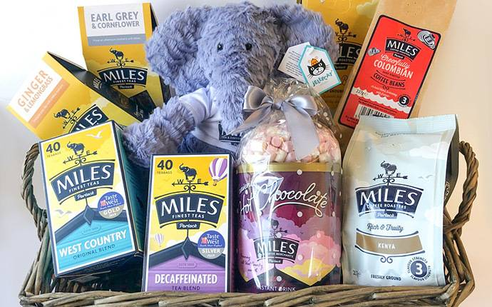 win a Tray of Goodies from Miles Tea and Coffee