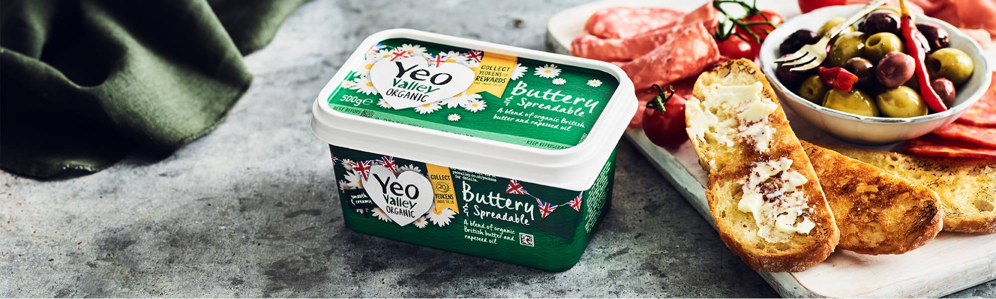 Yeo Valley Organic Spreadable Butter